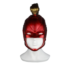 PVC Helmet Captain Marvel Carol Danvers Superohero Mask Women Cosplay Costume Halloween Party Prop