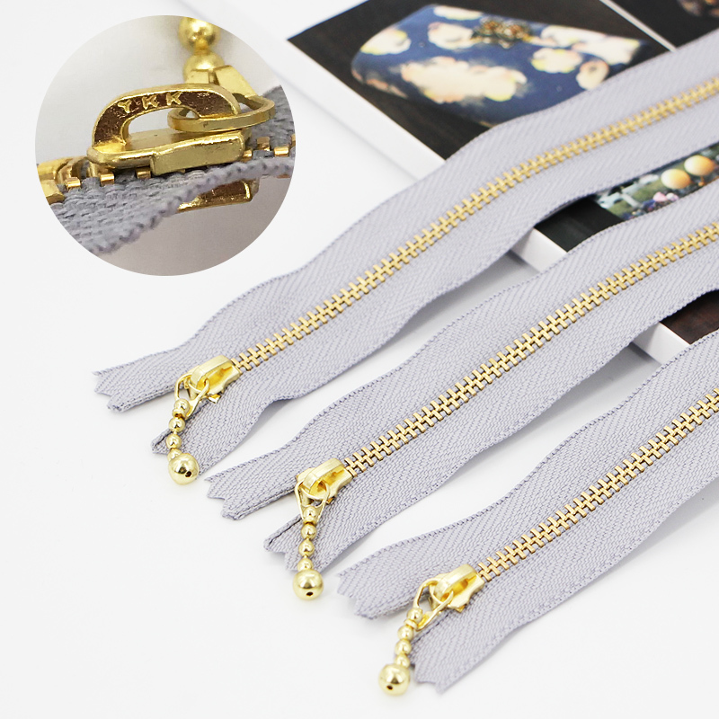 12 / 15 / 17 / 18 Cm Zipper Purse And Bags Accessories Parts Wallet Handbag Metal Zipper Wholesale Dropping Metal Zippers