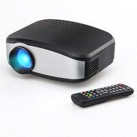 CLAITE C6 проектор светодиодный 1200 люмен 800x480 HD Поддержка 720 p 1080 Проектор для домашнего кинотеатра с Экран для HDMI/USB/VGA (шт)