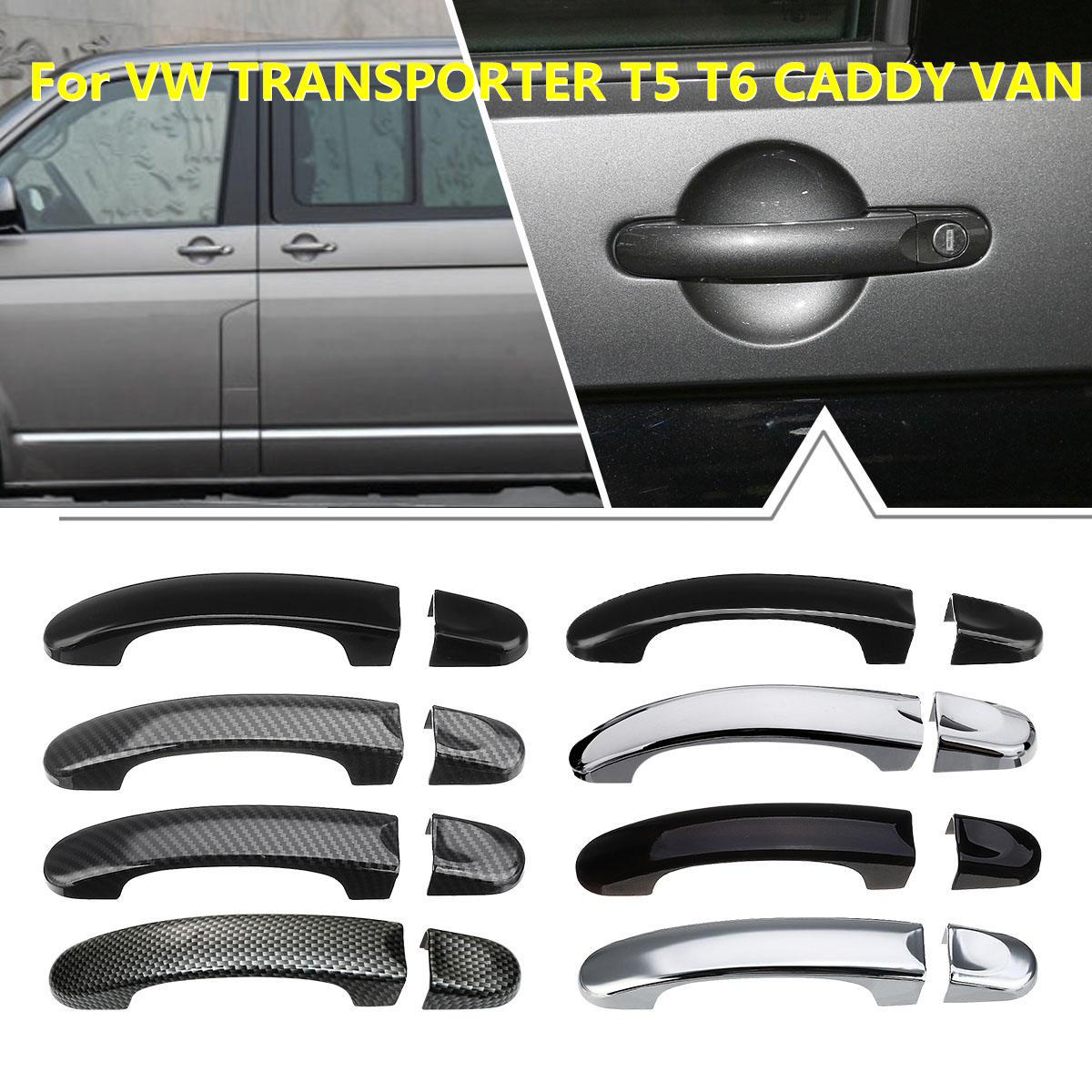 8 verschillende Stijl 1 Set Deurgreep Covers Trim Voor VW TRANSPORTER voor T5 2003 2004-2015 voor T6 2015-up voor CADDY VAN 2004-2015