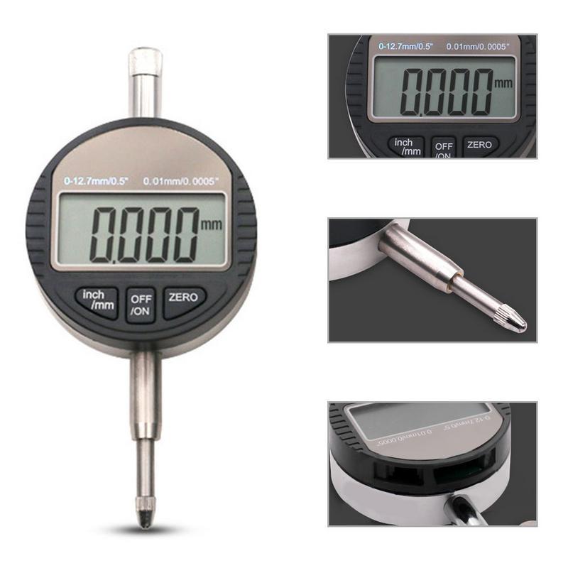 Digital Anzeige Elektronische Mikrometer Digital Micrometro 0-12,7mm High-präzision 0,000mm Messuhr Messer Mit Einzelhandel Box Up-To-Date-Styling
