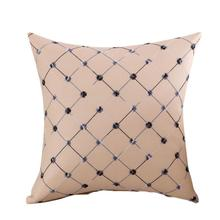 New 7 Colors Decorative Pure Pillows Cover Cushion Cover Home Sofa Bed Decor Pillow Case Perfect For Room Car Bed Living Room soft decorative pillows pillow case square home decor velvet cushion cover for living room bedroom sofa living room decoration