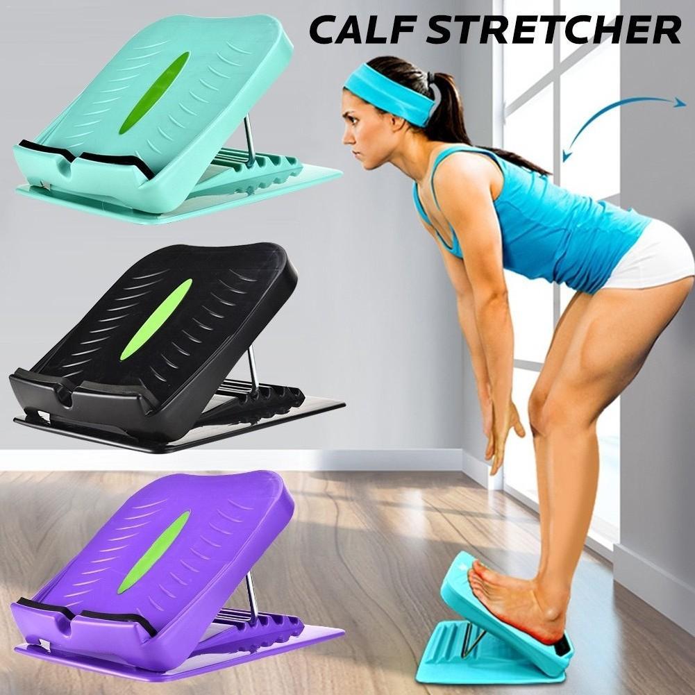 New Stretcher Slant Board Ergonomic Foot Sport Rest Adjustable Incline Boards Calf Stretcher Anti Slip Design Ankle Stretching