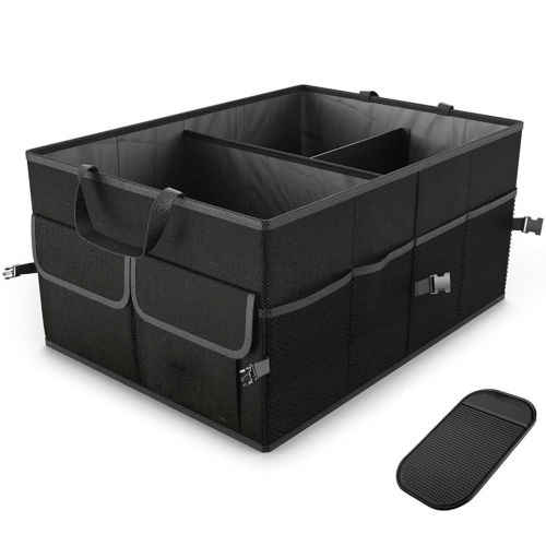Suv Cargo Organizer >> Trunk Cargo Organizer Folding Caddy Storage Collapse Bag Bin For Car Truck Suv Hot New Car Use Storage Box Sundries Organizer
