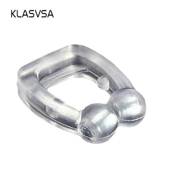 KLASVSA Silicone Magnetic Anti Snore Stop Snoring Nose Clip Sleep Tray Sleeping Aid  Apnea Guard Night Device with Case