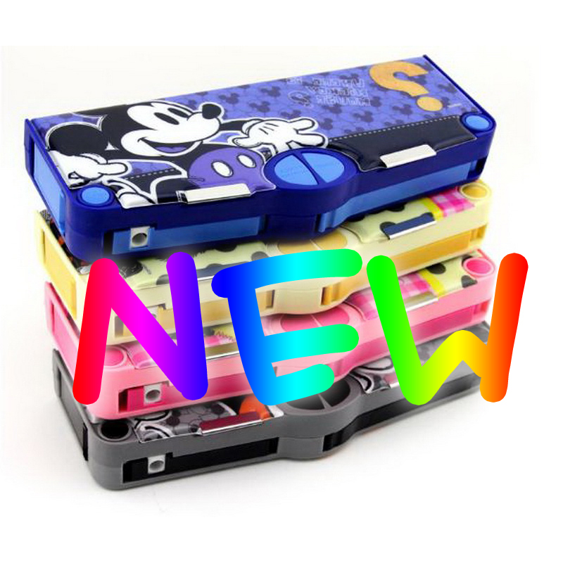 Rushed stationery children cute pencil case primary school supplies kindergarten boys and girls plastic pencil case new shop 220904 primary school students pencils female disney ice and snow children cute box simple large capacity pencil case