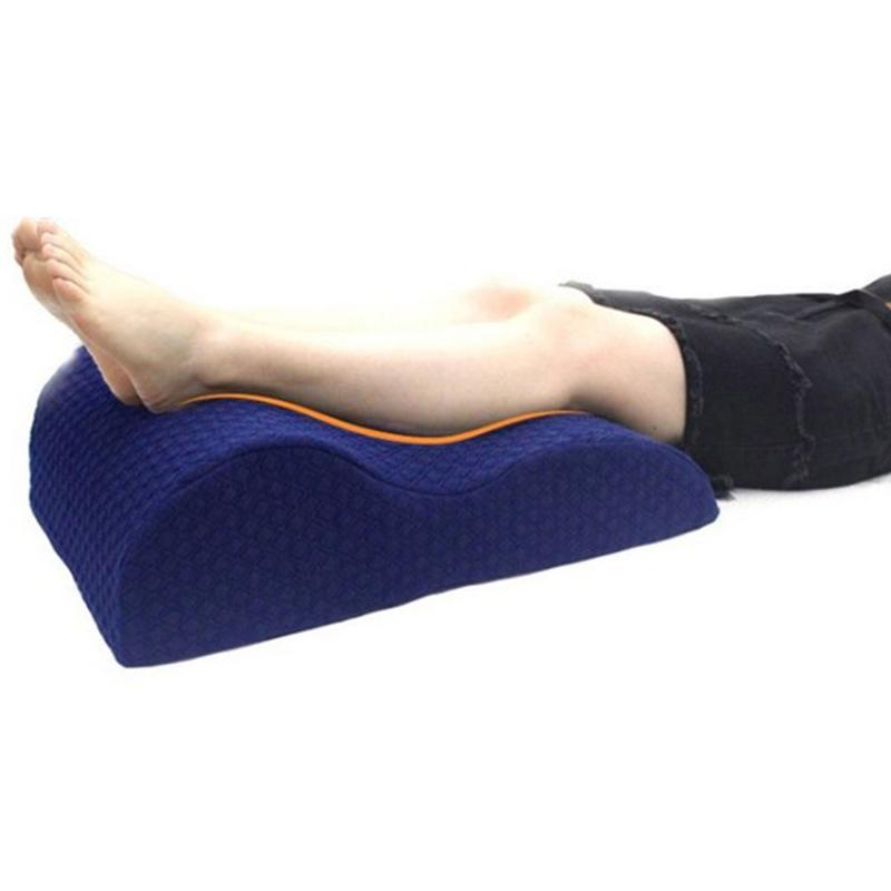 Oreiller de soutien du genou en mousse à mémoire de forme Posture de sommeil droite réduction des hanches du bas du dos douleur articulaire du genou housse lavable oreiller de jambe