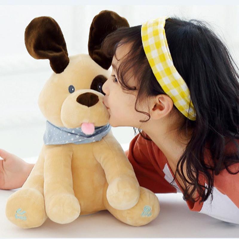 Hot Talking Dog Electronic Pet Plush Toy Cute Sound Record