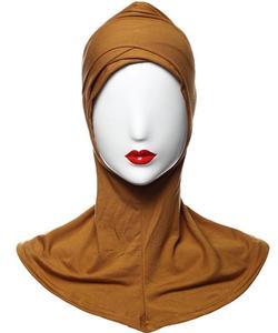 Image 5 - رمضان النساء الحجاب Niquabs غطاء داخلي مسلم الإسلامية الصليب العظام غطاء كامل قبعة الصلاة قبعة النينجا لينة الموضة