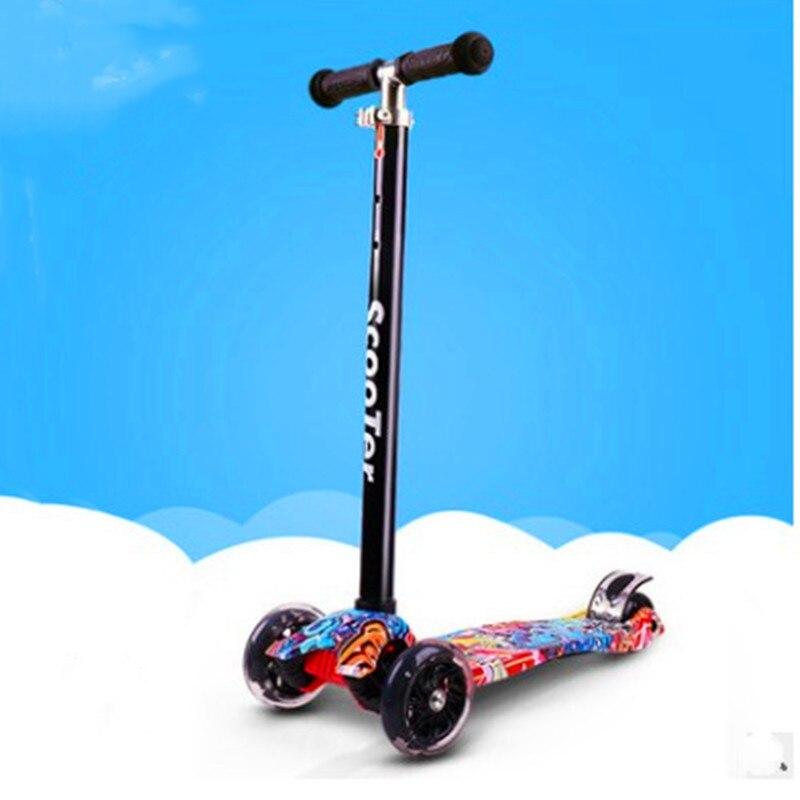 Buggy 14 Scooter Niños Años Triciclo Extraíble 6 Ruedas Flash Cuatro 3 Para HWYD9IE2