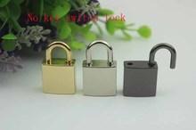 10 sztuk partia sprzętowe bagażu akcesoria klucz nie przełącznik gładka powierzchnia zamek ręcznie torby na zamek błyskawiczny kłódka szafka wkład do szuflady metalowy zamek tanie tanio Maxis Opia LOCK metal lock