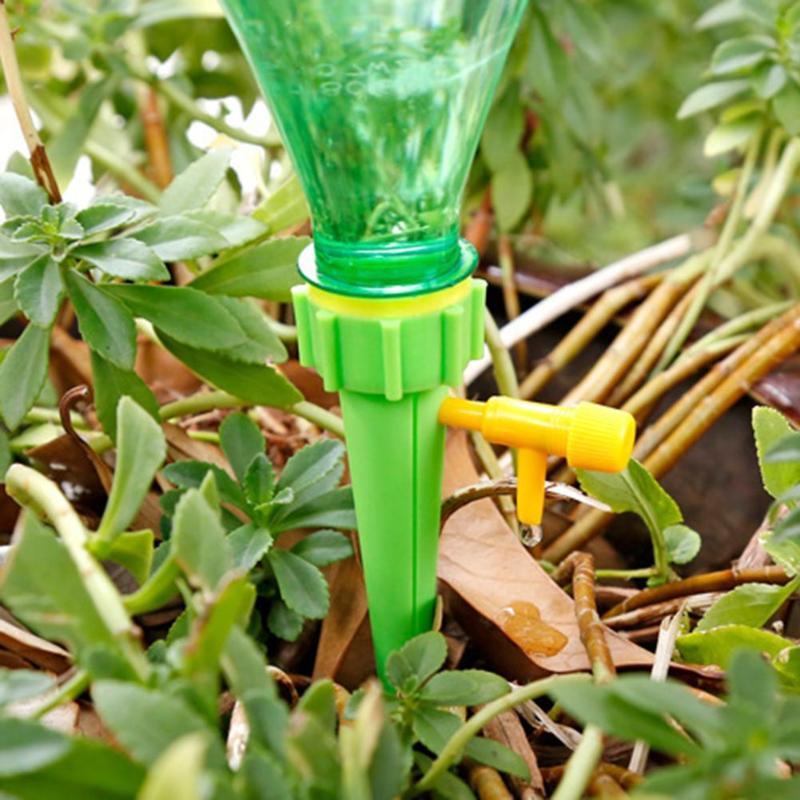 1/6/12 Pcs Pianta Di Auto Irrigazione Regolabile Dispositivo Stakes Giardino Fiore Impianto Automatico Di Irrigazione Spikes Impianto Di Irrigazione Nave Di Goccia Regalo Ideale Per Tutte Le Occasioni