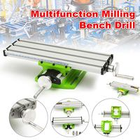 New 2 Axis Milling Machine Compound Table Worktable Adjustment X Y Milling Working Cross Table Bench Vise Drilling Table BG6330
