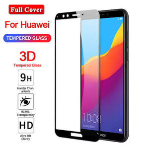 Protective-Glass Screen-Protector Huawei Y7 Prime 3d for Y6 9h Y3
