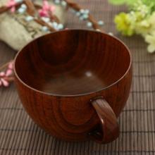 Новая деревянная кружка для путешествий, деревянная чашка для бара, кружки с рукояткой, кружка для кофе, чая, молока, вина, пива, посуда для напитков