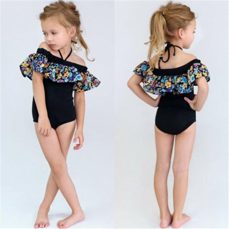 Baby Girl Flower Ruffle Bikini Set Kids Swimwear Swimsuit Bathing Suit BeachwearBaby Girl Flower Ruffle Bikini Set Kids Swimwear Swimsuit Bathing Suit Beachwear