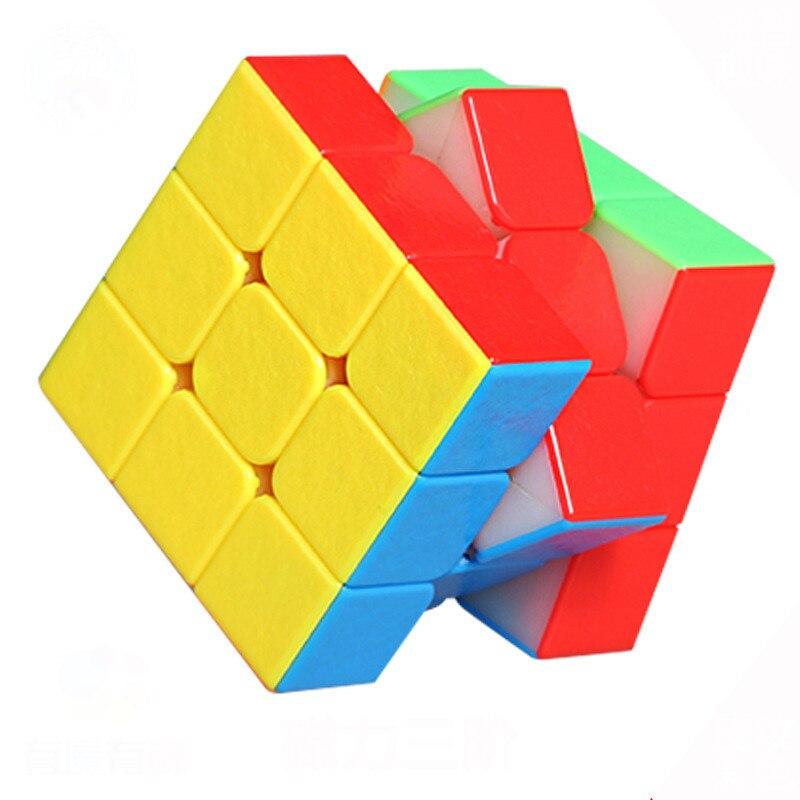 3x3x3 Drie Stappen Mr. M Magic Neo Fidget Cube Glad Concurrentie Snelheid Verhouding Match Special-purpose Magnetische Kracht Locatie Speelgoed