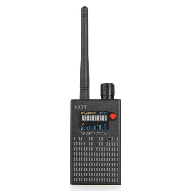 Detector de insectos EU G318 para proteger la seguridad, Detector de cámara inalámbrico, localizador GPS, rastreador de localización, barredora de escáner de frecuencia