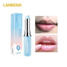 Lip-Balm Fine-Lines Moisturizing Long-Lasting LANBENA Hyaluronic-Acid Nourishing Dryness