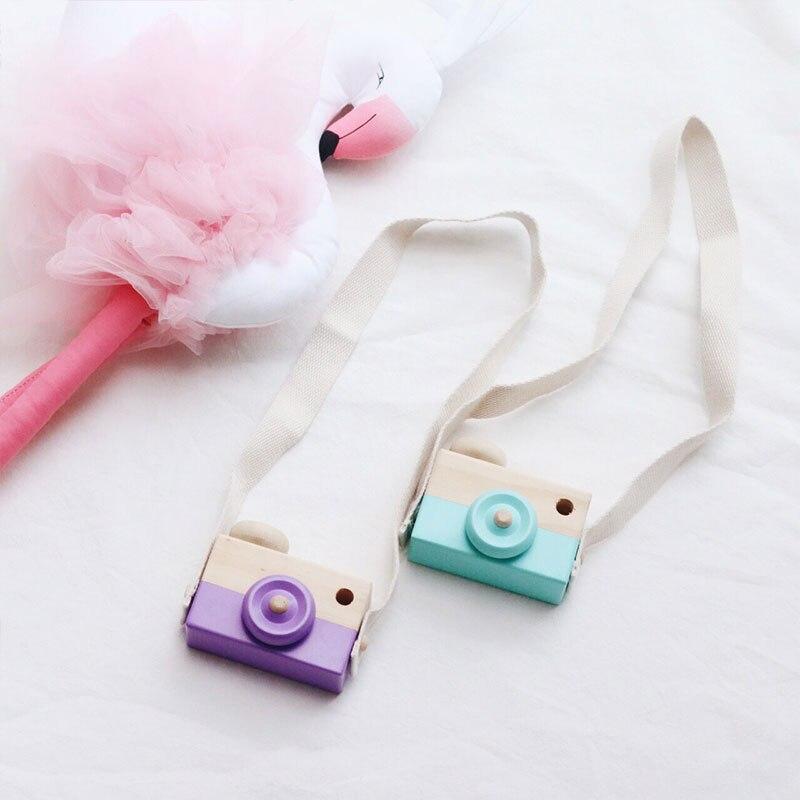 Деревянная камера игрушка Детские Путешествия домашний декор подарки для детей