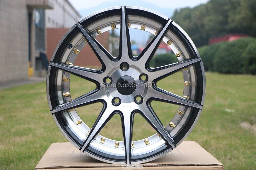 18x8J колеса диски PCD 5x114,3 центральное отверстие 73,1 ET35 с колпачками ступицы 18 дюймов