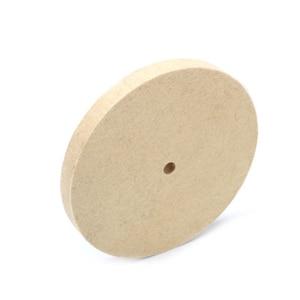 Image 4 - 1pc Beige Polishing Buffing Grinding Wheel Wool Felt Polisher Disc 25mm Thickness 8 Inch/200mm Polishing Wheels
