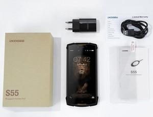"Image 5 - Doogee S55 IP68 Waterdicht Schokbestendig Mobiele Telefoon 5500Mah 4Gb + 64Gb 5.5 ""Android 8.0 Octa Core 5V2A Quick Charger Smartphone"