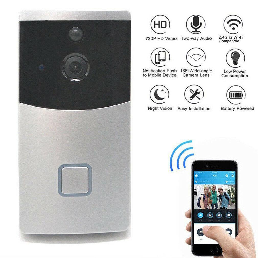 WiFi Ring Doorbell Smart Wireless Bell Video Phone Intercom Home SecurityWiFi Ring Doorbell Smart Wireless Bell Video Phone Intercom Home Security