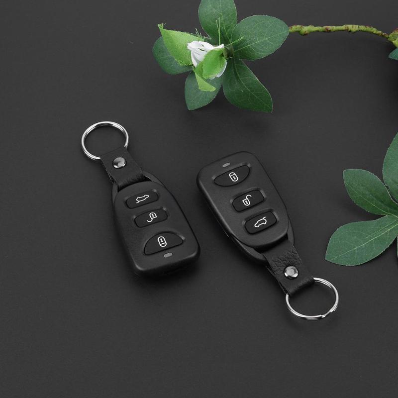 Système d'alarme de voiture automatique 12 V Kit Central à distance serrure de porte verrouillage du véhicule système d'entrée sans clé pour alarme antivol de voiture universelle - 4