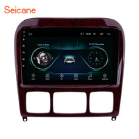 Seicane Car Multimedia Player GPS 2Din 9 For 1998 2005 Mercedes Benz S Class W220 S280 S320 S350 S400 S430 S500 S600 S55 AMG