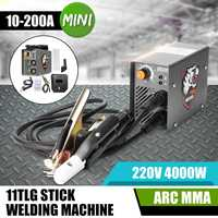 ZX7 200 220V 10 200A 4000W Handheld Mini MMA Electric Stick Welder Inverter ARC Welding Machine