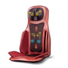 Электрический массажер для спины шейного нагрева на шею, плечи, поясницу давления воздуха разминающая Массажная подушка для стула всего тела