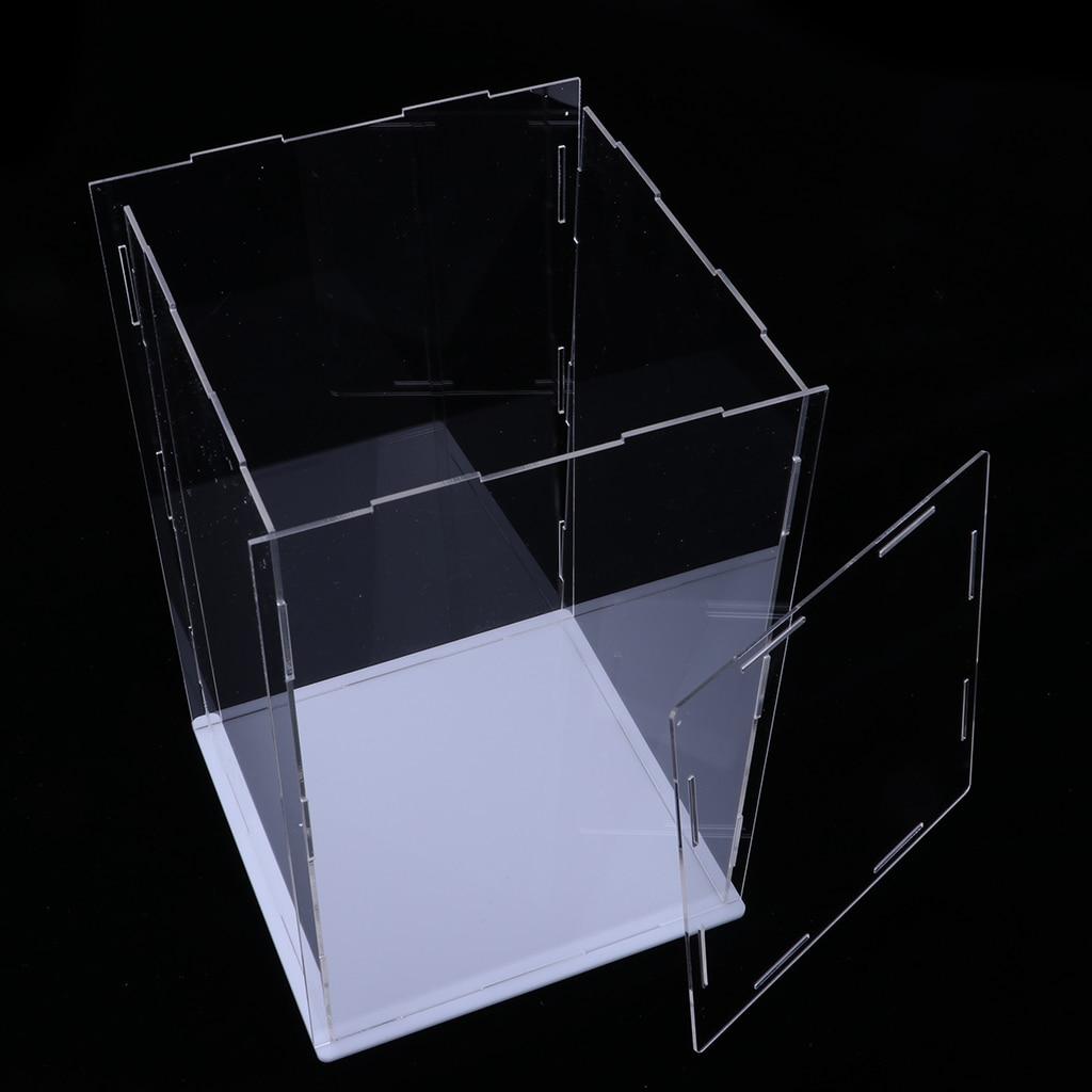 Modern Acrylic Toy Display Show Case Dustproof Box Large Ornament Protection Tool 15x15x25cm андрей бычков четвертый ангел апокастасиса