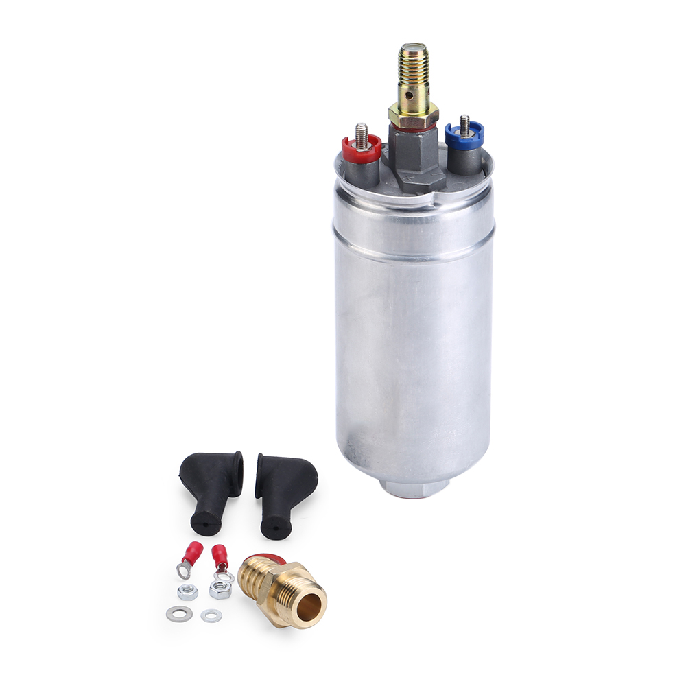 External Inline Fuel Pump 12V Fuel Injection Replacement Universal for Bosch 044 0580254044 300LPH Car Styling