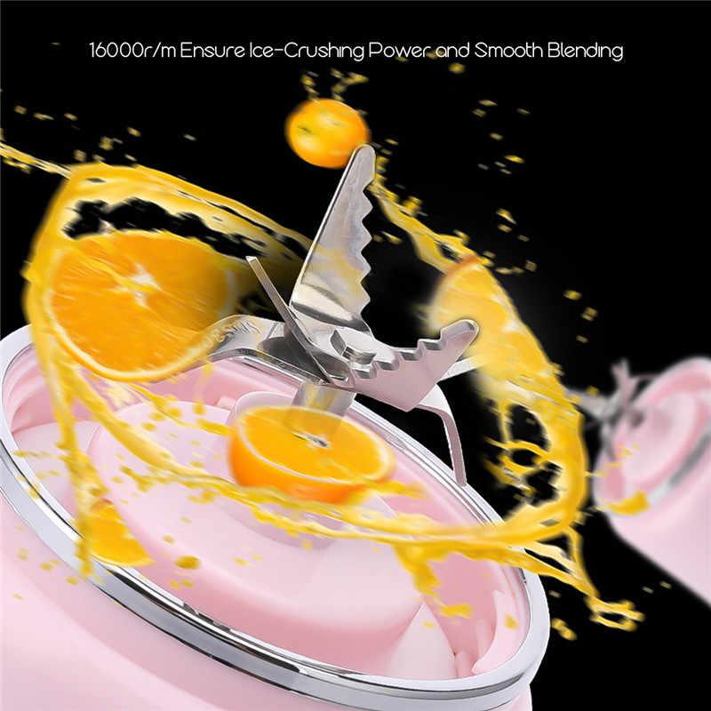 Misturadores Liquidificador Espremedor Elétrico portátil USB Fruta Espremedores de Frutas Laranja Limão Juicer Criador Máquina Do Smoothie Liquidificador Extratores
