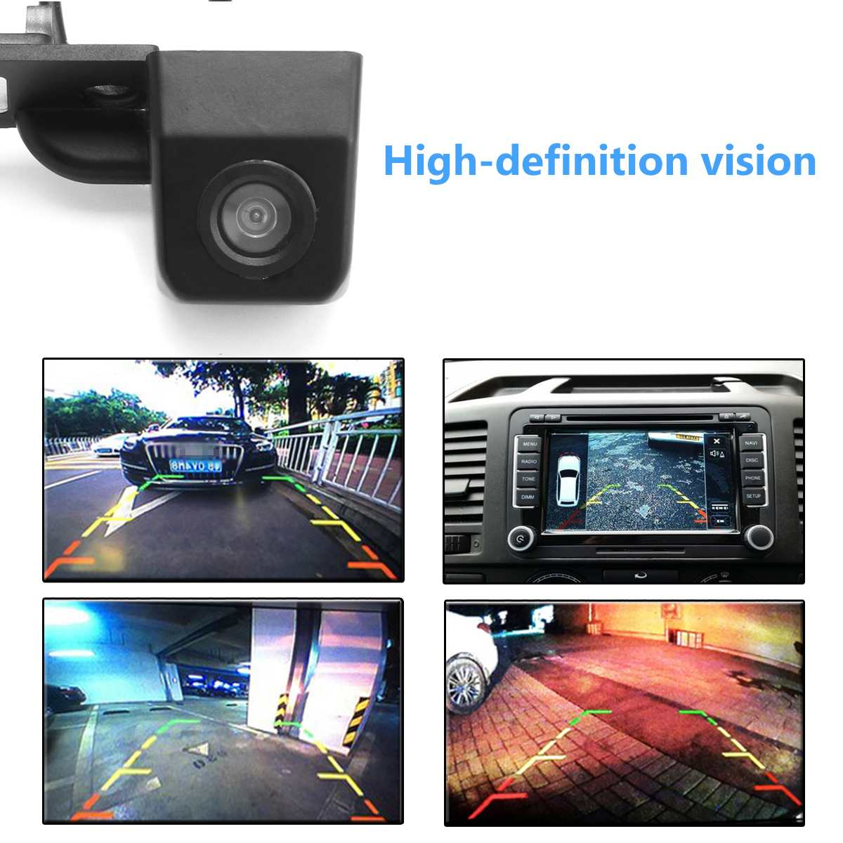 cheapest HD Car 170 Degree Wide Angle Reverse Backup Rear View Camera For VW Transporter T5 T30 for Caddy Passat B5 For Touran Jetta