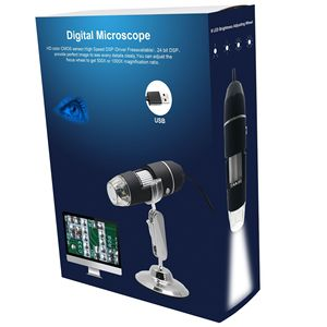 Image 5 - Wsdcam 1000X USB Digital Microscope for Android Iphone Mobile Phone 8 LED 3in1 kids Digital Microscope USB Endoscope Zoom Camera