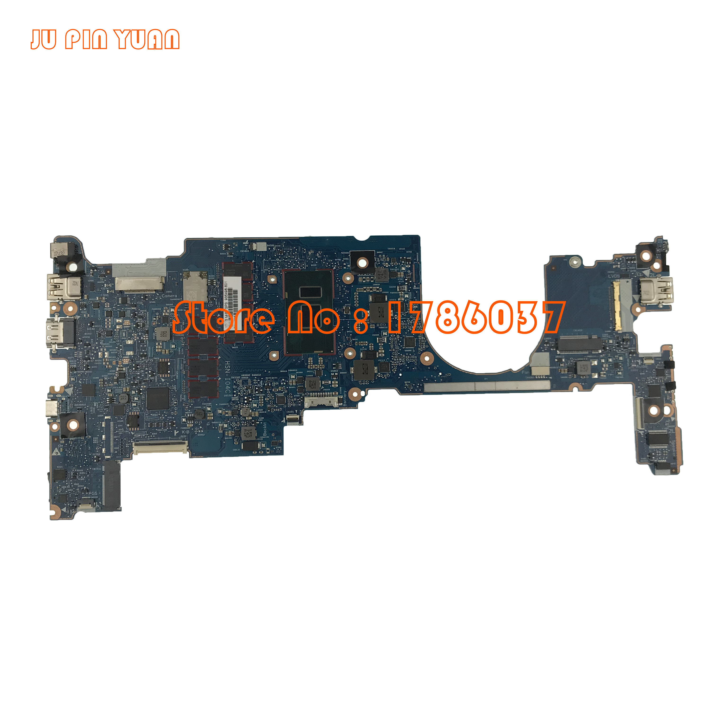 JU PIN YUAN 935498-001 For HP EliteBook X360 1030 G2 Laptop Motherboard 6050A2848001 935498-601100% fully TestedJU PIN YUAN 935498-001 For HP EliteBook X360 1030 G2 Laptop Motherboard 6050A2848001 935498-601100% fully Tested