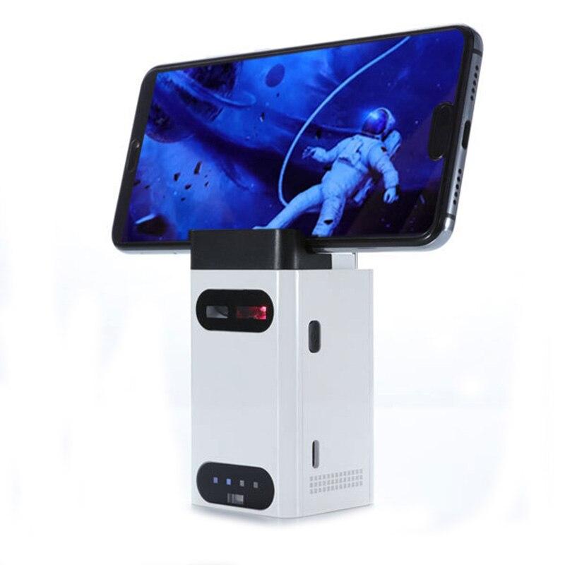 2019 nouveau support de téléphone cellulaire de bureau intelligent, Mini support de téléphone 5 en 1 avec clavier, souris, alimentation Mobile, connexion aux fonctions de l'ordinateur