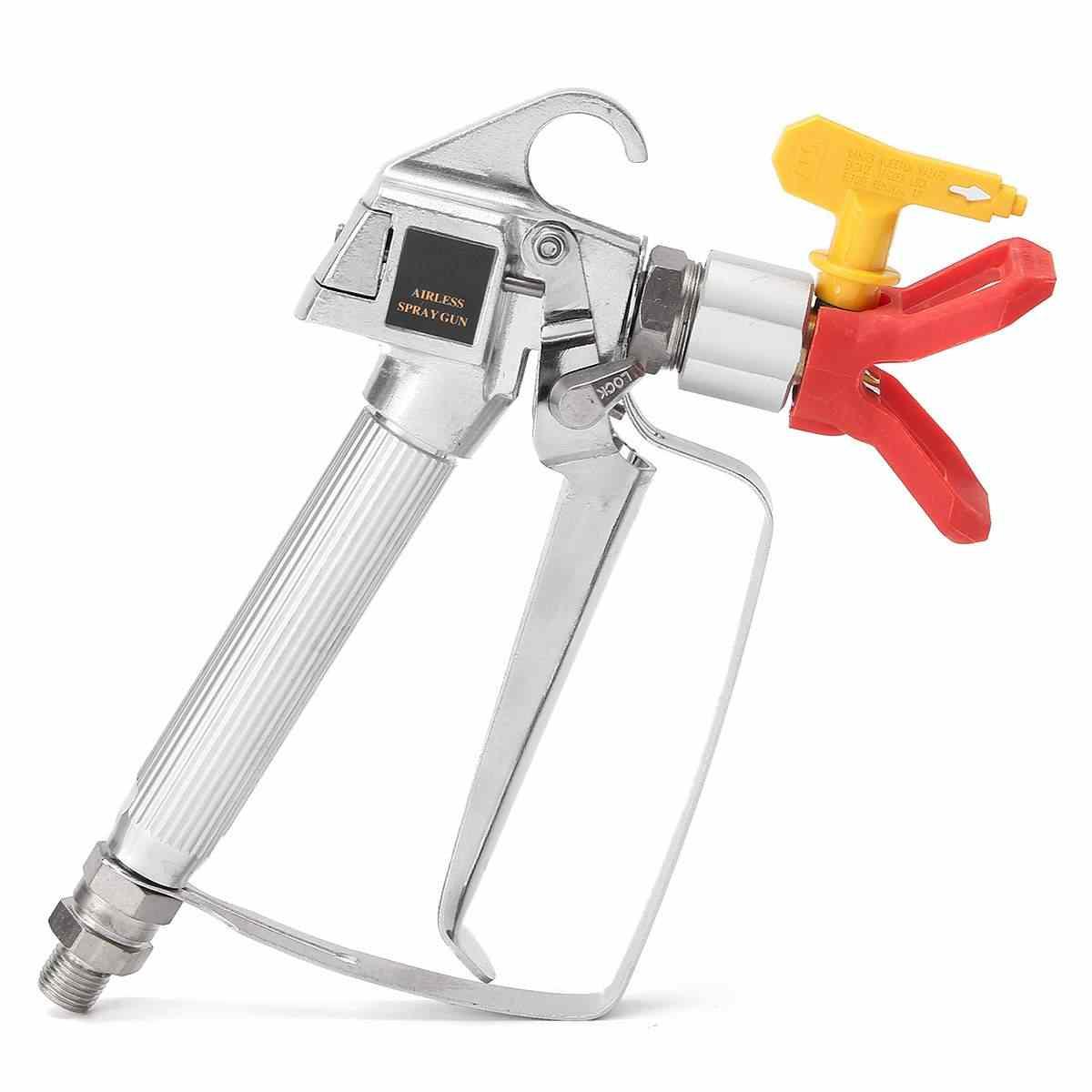 3600PSI Airless Verfspuit G u n Hoge Druk met 517 Gele Spray Tip Nozzle Guard Power Tool Spuitmachine