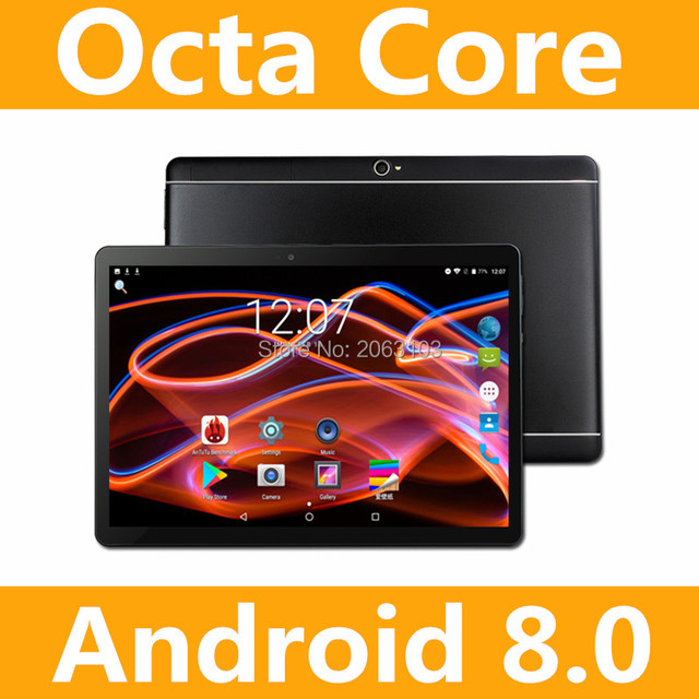 2019 Mới 10 inch Octa Lõi 3G Máy Tính Bảng 4 GB RAM 32 GB ROM Kép Máy Ảnh Android 8.0 Máy Tính Bảng 10.1 inch Miễn Phí Vận Chuyển
