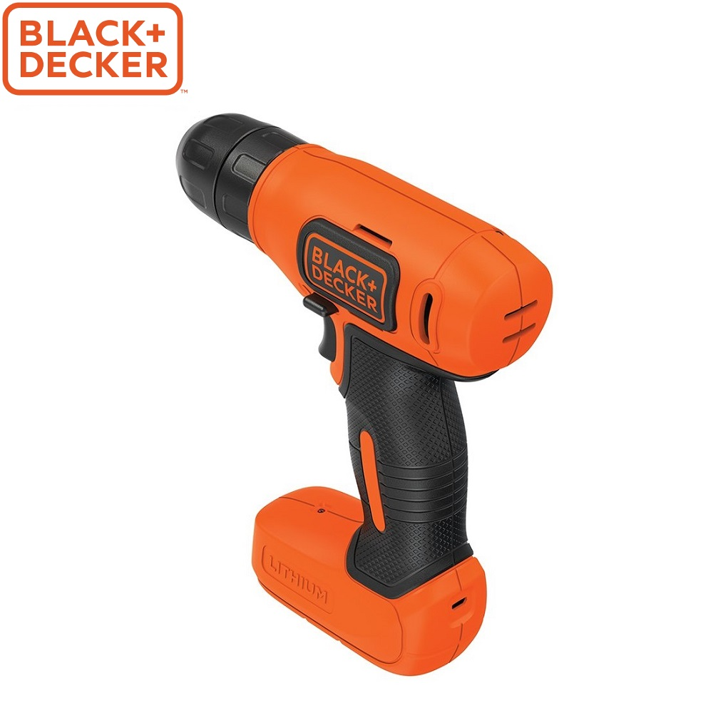 Screwdriver Black+Decker BDCD8 power tools electric drill tool home repairs electroscrew сordless drill goxawee 130w electric variable speed rotary tool mini drill with flexible shaft 160pcs accessories power tools for dremel 3000