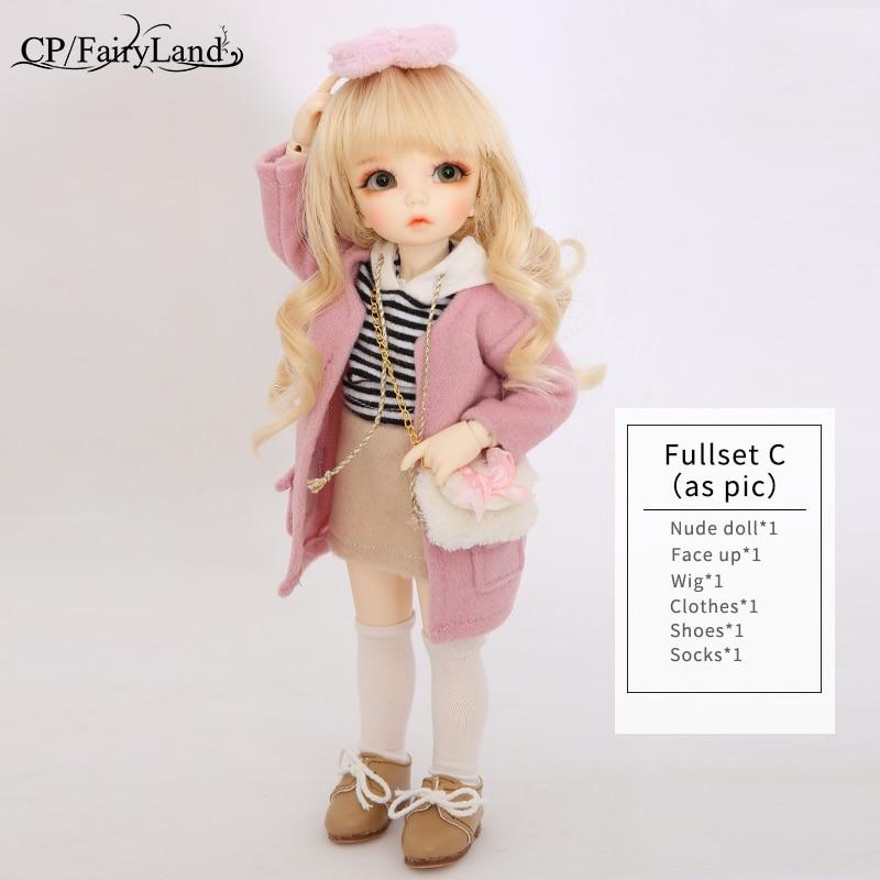 BJD Dolls Fairyland Littlefee Ante Suit Толық жиынтығы - Қуыршақтар мен керек-жарақтар - фото 6
