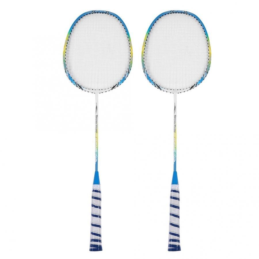 1 Paar Carbon Fiber Badminton Schläger Set Leichte Training Schläger Mit Tasche Schläger Sport Zubehör