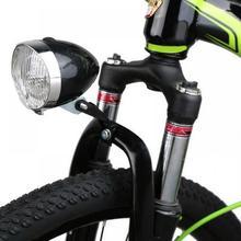 цена на Outdoor Mountain Bike Cycling Light 3 LED Night Bicycle Headlight Interface Headlight Lamp Vintage Flashlight Lamp Night Safe