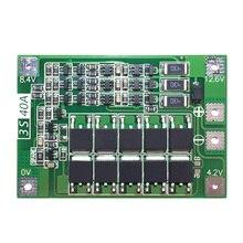 3S 40A עבור מברג 12V ליתיום 18650 Bms Pcm הגנת סוללה לוח Bms Pcm עם איזון Liion סוללה חבילת תא מודול