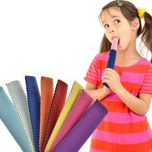 8 шт./компл. красочные неопреновый держатель для леденцов морозильник Ледяной полюс мороженого на палочке рукав протектор для мороженого инструменты для вечерние питания Инструмент