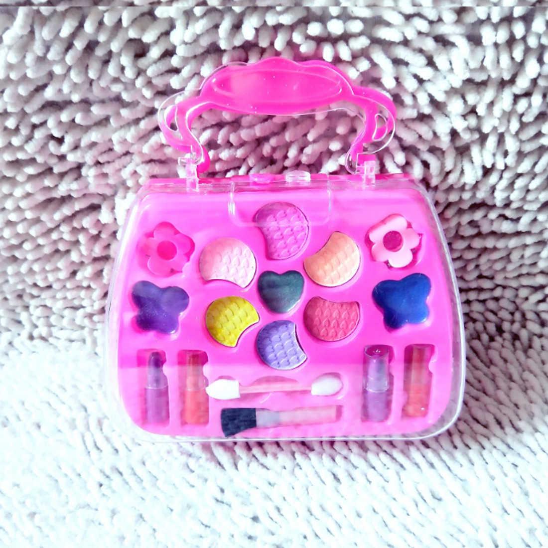 Новое поступление Детские ролевые игры макияж комплект маленькие девочки косметический набор игрушки для девочек подарок на день рождения Обучение красота наборы 2019