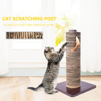 Cat Scratcher Sisal and carpet Cat Climbing Vertical Corrugated Paper Scratching Toy for Cats Playing in non harmful sisal fiber