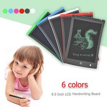 8.5inch LCD Writing Tablet Digital Drawing Toy Handwriting Pads Portable Electronic TPainting Board for Kids Drawing Writing